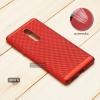 เคส Nokia 5 เคสแข็งสีเรียบ (รูระบายอากาศที่เคส) สีแดง