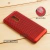 เคส Xiaomi Redmi 5 Plus เคสแข็งสีเรียบ (รูระบายอากาศที่เคส) สีแดง
