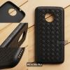 เคส Moto G5s Plus เคสนิ่ม TPU ลายสาน สีดำ