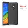 เคส Xiaomi Redmi 5 Plus เคส Hybrid iPaky เคสนิ่มกันกระแทกเสริมขอบ PC สีดำเทา