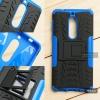 เคส Nokia 5 เคสบั๊มเปอร์ กันกระแทก Defender (พร้อมขาตั้ง) สีน้ำเงิน