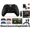 Set Xbox One S Controller + New Adapter for Windows - Black (Gen 3) (Wireless & Bluetooth) (Warranty 3 Month)