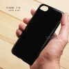 เคส iPhone 7 / 8 เคสแข็งผิวเงา Glossy ขอบยางนิ่ม สีดำ