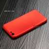 เคส OPPO A57 และ A39 (ใช้เคสตัวเดียวกัน) เคสนิ่ม TPU สีเรียบ สีแดง