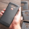เคส LG G6 เคสนิ่มเกรดพรีเมี่ยม (Texture ลายโลหะขัด) กันลื่น ลดรอยนิ้วมือ สีดำ
