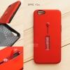 เคส OPPO F1s เคส Hybrid เกรดพรีเมี่ยม 2 ชั้น ขอบยางลดแรงกระแทก พร้อม (ขาตั้ง + สายคล้องนิ้ว) สีแดง