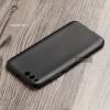 เคส Xiaomi MI 6 เคสนิ่ม TPU สีเรียบ สีดำ