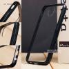 เคส Samsung Galaxy J7 Plus เคส Hybrid ฝาหลังอะคริลิคใส ขอบยางกันกระแทก สีดำ