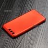 เคส Huawei P10 เคสนิ่ม TPU สีเรียบ สีแดง