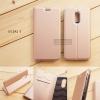 เคส Xiaomi Redmi 5 เคสฝาพับเกรดพรีเมี่ยม เย็บขอบ พับเป็นขาตั้งได้ สีโรสโกลด์ (DUX DUCIS)