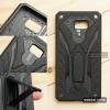 เคส Samsung Galaxy C9 Pro เคสบั๊มเปอร์ กันกระแทก Defender 2 ชั้น (พร้อมขาตั้ง) สีดำ (แบบที่ 2)