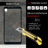 (มีกรอบ) กระจกนิรภัย-กันรอยแบบพิเศษ ( Redmi 5 Plus ) ความทนทานระดับ 9H สีดำ
