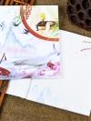 สมุดโน้ตสันเชือกมีพู่ห้อย เล่มขนาด 15*17 ซม. เนื้อในกระดาษขาวพิมพ์สี่สี
