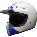 Bell Moto3 Ace Cafe GP 66 Gloss White/Red