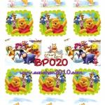BP020 กระดาษแนพกิ้น 21x30ซม. ลายหมีพูห์