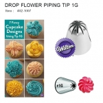 DROP FLOWER PIPING TIP 1G (402-1007)
