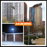 SL02H - โคมไฟถนนโซล่าเซลล์อัจฉริยะรุ่น 20W All-in-one solar street light Hi-Spec