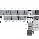 ขายดาวน์คอนโด Life Ladprao (ไลฟ์ ลาดพร้าว) 2 ห้องนอน 1 ห้องน้ำ 1 ห้องครัว 1 ห้องรับแขก อาคาร บี