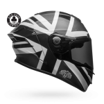 RACE STAR FLEX ACE CAFE BLACKJACK MATTE/GLOSS BLACK/WHITE