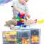 กล่องเก็บเลโก้ สามารถใส่คู่มือพร้อมกันได้ เก็บชิ้นส่วนเลโก้ให้เป็นระเบียบ LOGO BOX สีฟ้า thumbnail 5