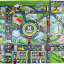 แผนที่จำลอง แผนที่เล่นกับรถเหล็ก แผ่นรองเล่นรถ Model car map thumbnail 3