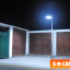 SL02H - โคมไฟถนนโซล่าเซลล์อัจฉริยะรุ่น 20W All-in-one solar street light Hi-Spec thumbnail 3