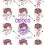 CD005 กระดาษแนพกิ้น 21x30ซม. ลายเด็ก thumbnail 1