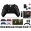 Set Xbox One S Controller + New Adapter for Windows - Black (Gen 3) (Wireless & Bluetooth) (Warranty 3 Month) thumbnail 1