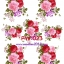 FW023 กระดาษแนพกิ้น 21x30ซม. ลายดอกไม้ thumbnail 1