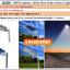 SL02H - โคมไฟถนนโซล่าเซลล์อัจฉริยะรุ่น 20W All-in-one solar street light Hi-Spec thumbnail 2
