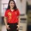 เสื้อโปโลสีแดงปักอักษรจีน thumbnail 2