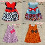 SALE ราคาส่งในราคาปลีกถูกมาก ไซส์ 3 ปี BabyQ ชุดกระโปรงเด็กผู้หญิง