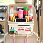 พรีออเดอร์ 15-20 วัน ที่ติดเบาะหลังรถยนต์ใช้สำหรับวางของใช้ ห้อยถุงใส่ขยะได้ (P001)