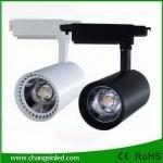 โคมไฟ COB LED Track Light ทรงกระบอก 20W โคมสีดำ