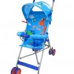ส่งฟรี EMS รถเข็นเด็ก โมเดิร์นเแคร์ รุ่นปักกี้ - สีฟ้า