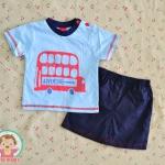 ไซส์ 3-6,3-6 เดือน ชุดเสื้อผ้าเด็กผู้ชาย ลายรถ