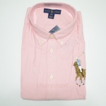 Polo by Ralph Lauren big pony oxford shirt Col : bsr pink