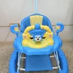 รถหัดเดิน 2 in 1 ปรับโยกได้ - Modern Care สีฟ้า