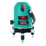 เครื่องเลเซอร์วัดระดับ (แสงสีแดง 5 วัตต์) EUROX PL-V5 (พร้อมชุดขาตั้ง)