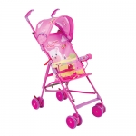 ส่งฟรี EMS รถเข็นเด็ก โมเดิร์นเแคร์ รุ่นปักกี้ - สีชมพู