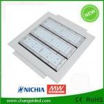 โคมไฟ LED Canopy Light 90-120W ดีไซน์ใหม่ สำหรับใช้ในปั๊มน้ำมันและอื่นๆ
