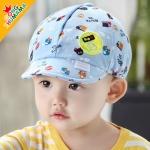 ไซส์ 3-24 เดือน หมวกเด็กสไตล์เบสบอล - สีฟ้า