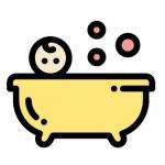 อุปกรณ์เด็กสำหรับอาบน้ำ