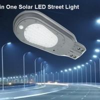 โคมไฟถนน LED โซล่าเซลล์