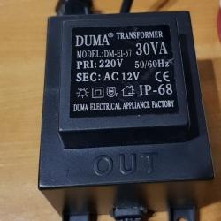 หม้อแปลง AC12V-24V 30VA
