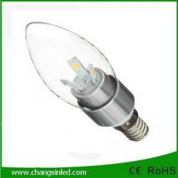 หลอดไฟ E14 Crystal LED SMD5730 BLUNT TIP Bulb Light Lamp 3w