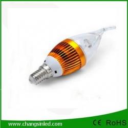 หลอดไฟ LED E14 Candle Bulb Light 3w Type C