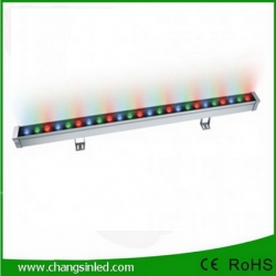 LED Wall Washer Super Bright Outdoor Lighting 24W DMX512