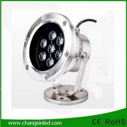 โคมไฟใต้น้ำ LED 7x1W DC12V