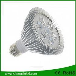 ไฟ LED E27 PAR30 Aluminium 7w.